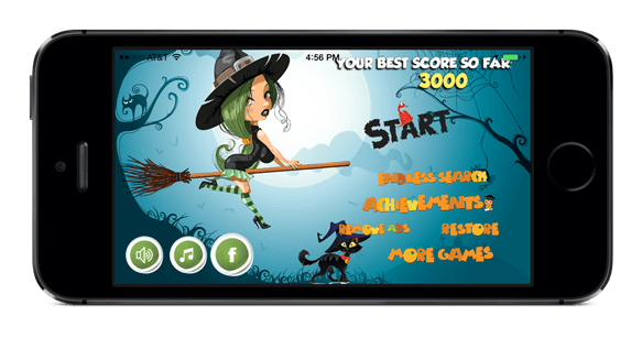 Azence creates Witch Halo app for Kids