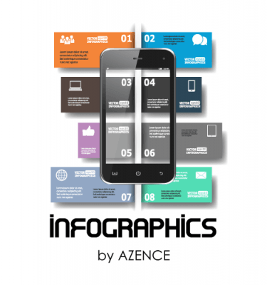 Azence Infographics Package