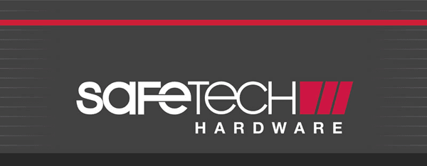 Safetech Vertical Banner Design
