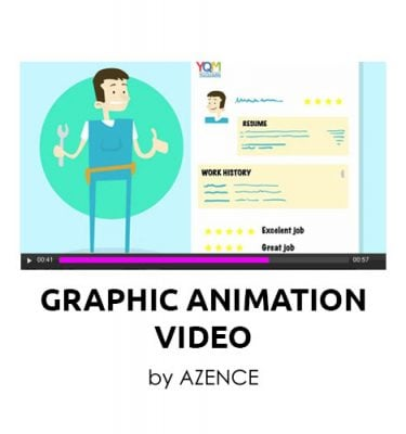Graphic Animation Explainer Video from Azence