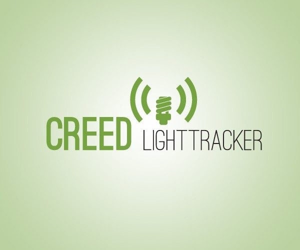 Logo design for Creed light tracker