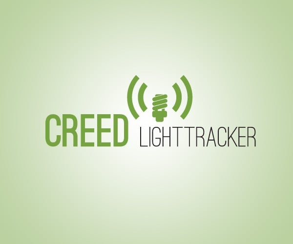 CREED LightTracker Logo Design