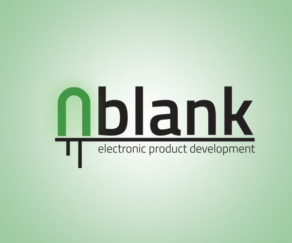 Logo design for nBlank