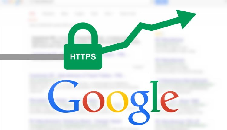 SSL helps with Google Ranking