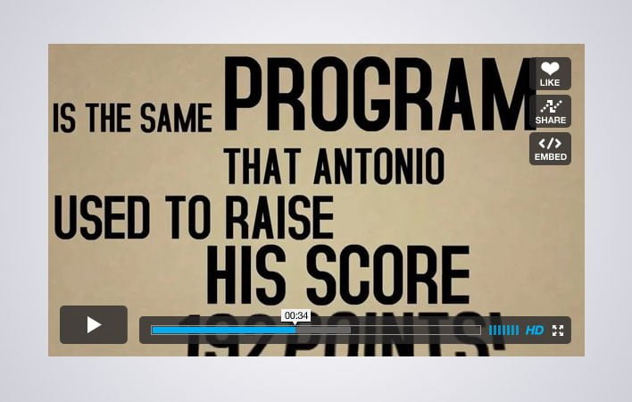 Kinetic Typography Video Animation