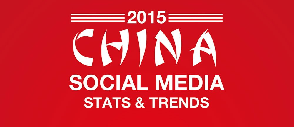 2015 Chinese Social Media Statistics and Trends Infograhic