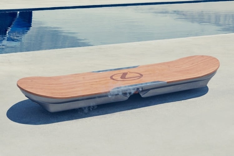 All About The Lexus Hoverboard