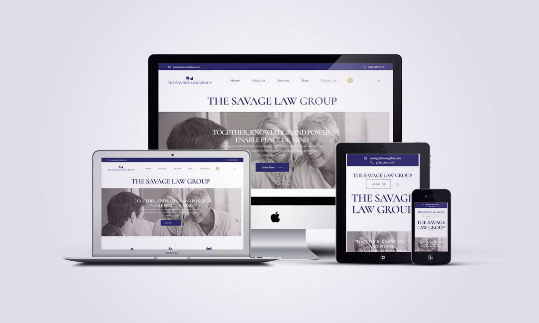 WordPress Website for Law firm