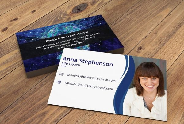 Authentic Business Card by Azence