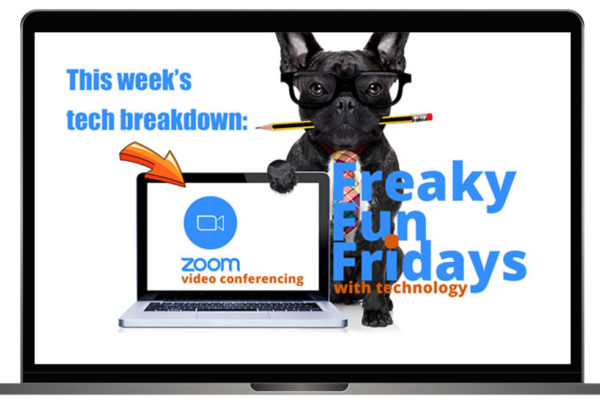 Freaky Fun Fridays with Technology: Zoom